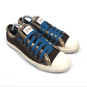 Converse All Star Double Upper Plaid Shoe 8.5/10.5